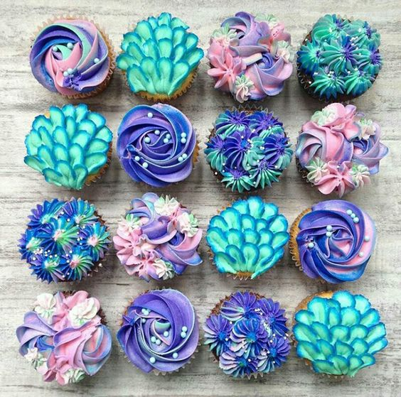 Turquoise Swirls