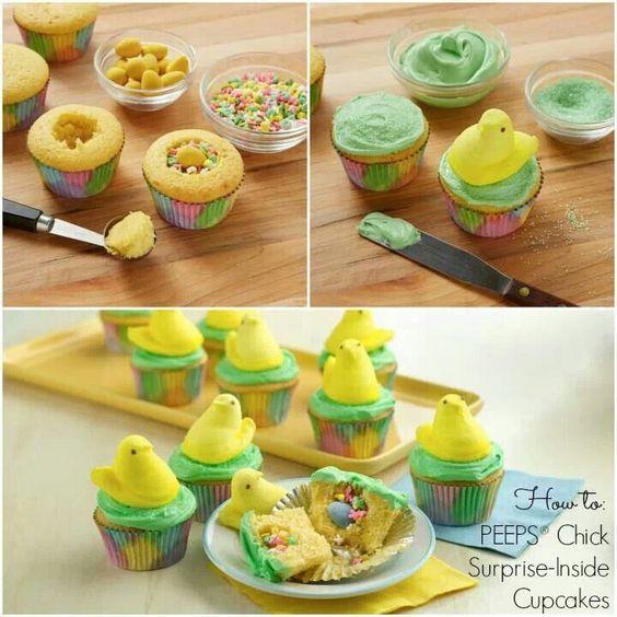 Easter Cupcake Ideas