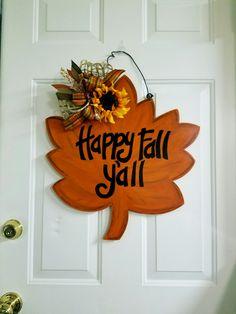 Fall Door Hangers