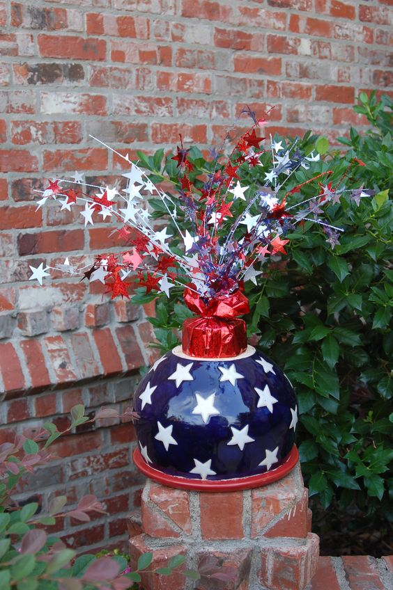 July 4th Centerpieces