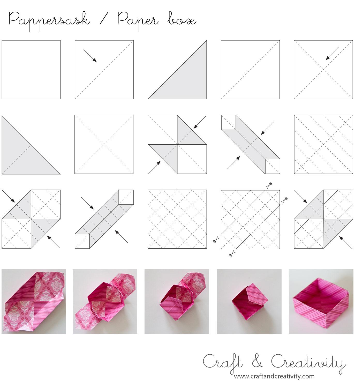 DIY origami paper box