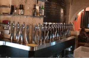 La Fine Mousse beer taps