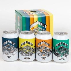 Urbanaut Beers Four Pack
