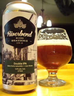 Double IPA - Microbrasserie Riverbend craftbeerquebec.ca