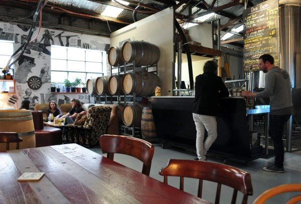 Moon Dog Brewery, Melbourne