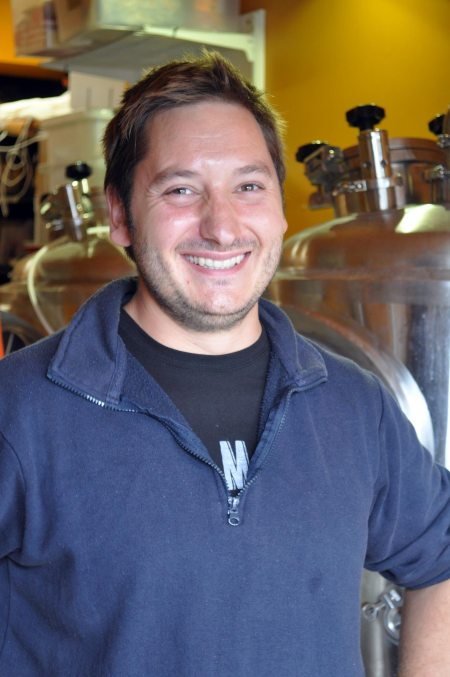 Vincent do Soyres of Flat Rock Brew Cafe