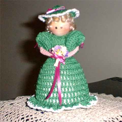 Pin Cushion Doll Crochet Pattern