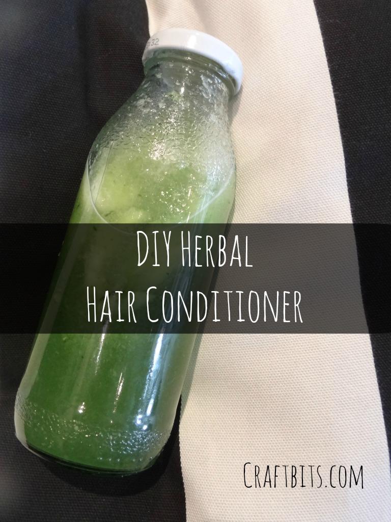 DIY Herbal Conditioner