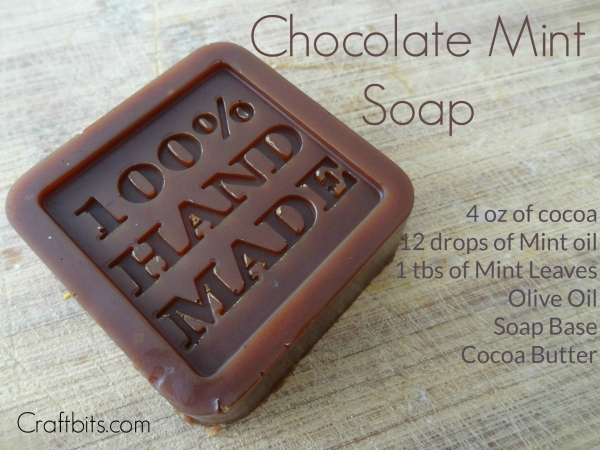 chocolate melt and pour soap recipe