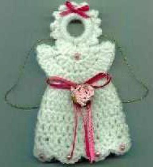 Crochet Angel Fridgie