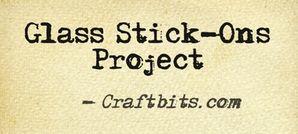 Glass Stick-Ons