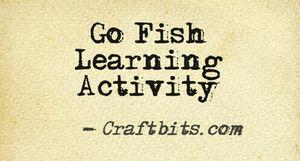 Go Fish Learning Activity
