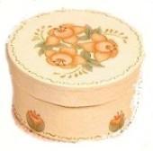 Painted Rose Trinket Box
