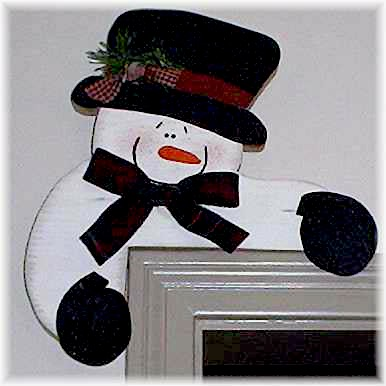 Christmas Snowman Craft