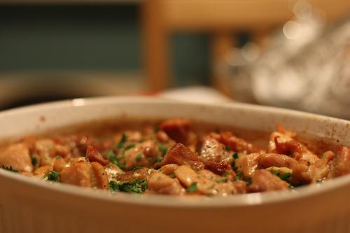 casserole recipe page