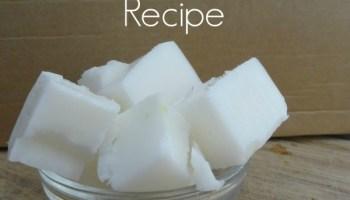 skin softening soap tutorial and Recipe