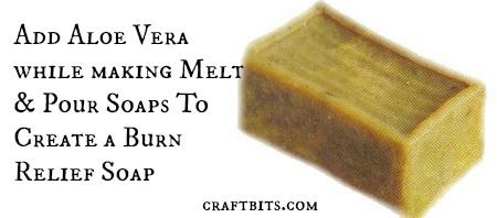 Burn Relief Soap