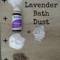 Lavender Bath Dust