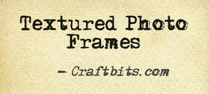 Textured Photo Frames