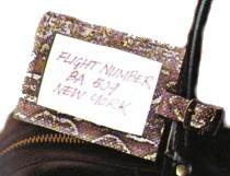 DIY Luggage Label
