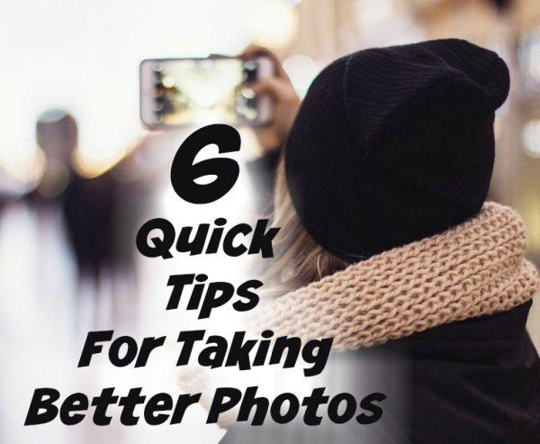 Taking Better Photos