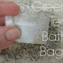 Green Tea Bath Bags