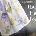Mother's Day Craft: Handy Hand Print Towel