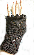 Knitted Nearly Gloves
