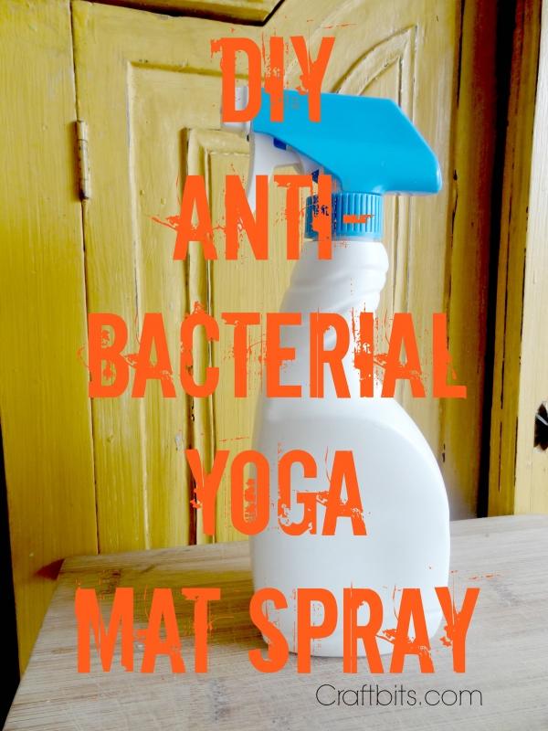 Antibacterial Yoga Mat Spray