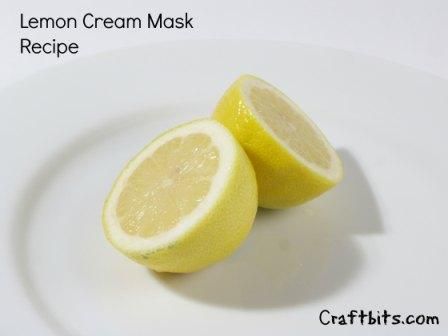 Lemon Cream Mask