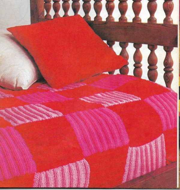Ribbed Square BedSpread