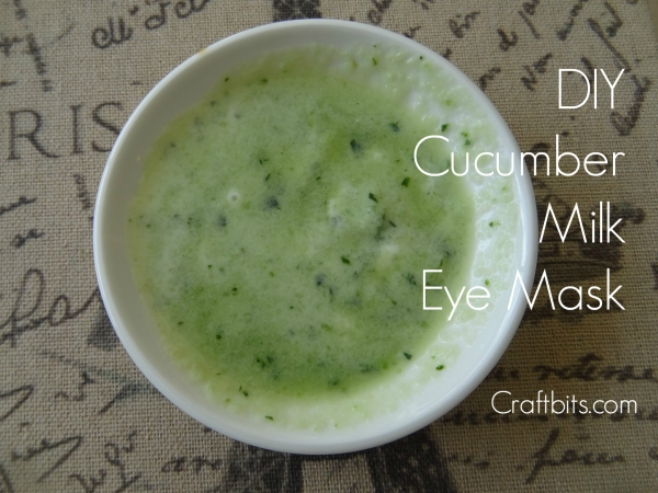Cucumber Milk Eye Mask