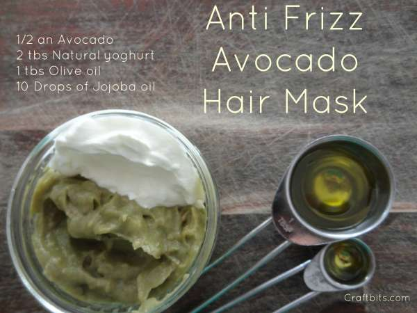 Anti Frizz Avocado Hair Mask