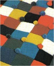 Pom Pom Trimmed Blanket