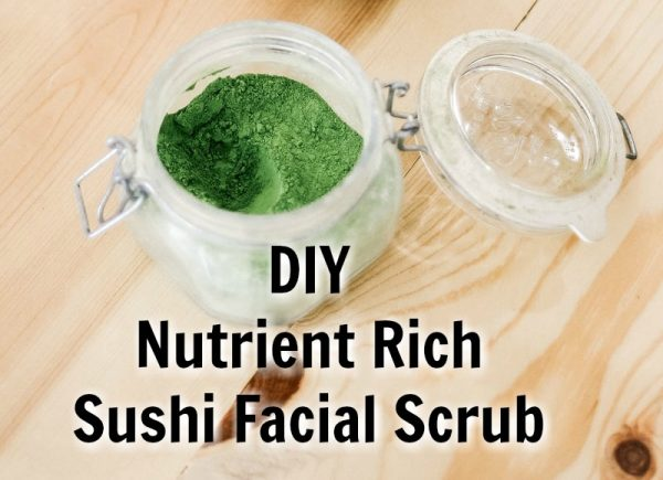 Sushi Facial Scrub