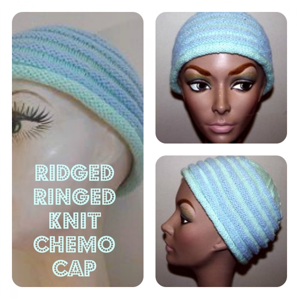 Charity Pattern: Ridged/Ringed Chemo Cap