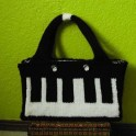 Knitted Keyboard Purse