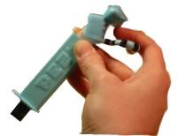 Pez Dispenser USB Drive Modification