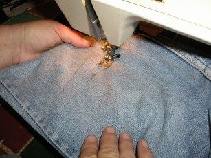Denim Jeans Organizer Step 3