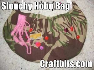 Slouchy Hobo Bag