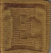 Letter Cloth – E