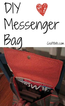 DIY Messenger Bag