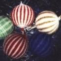 Knit Beaded Christmas Ornaments