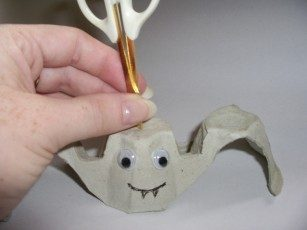 Egg Carton Bat