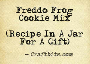 Freddo Frog Cookie Mix