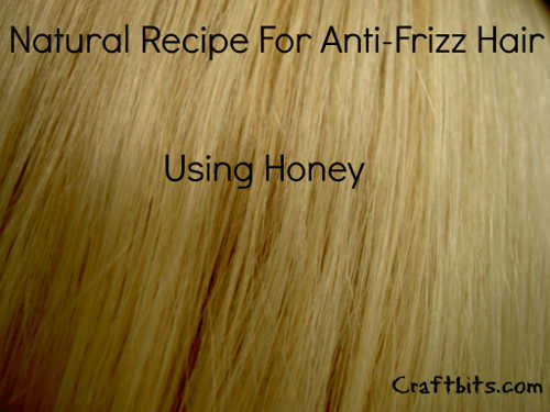 Anti Frizz Honey Hair Mask
