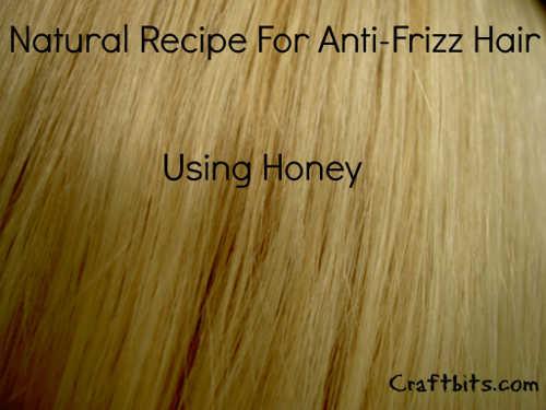 Anti Frizz Honey Hair Mask