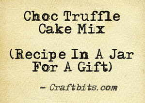 Choc Truffle Cake Mix