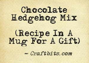 Chocolate Hedgehog Mix