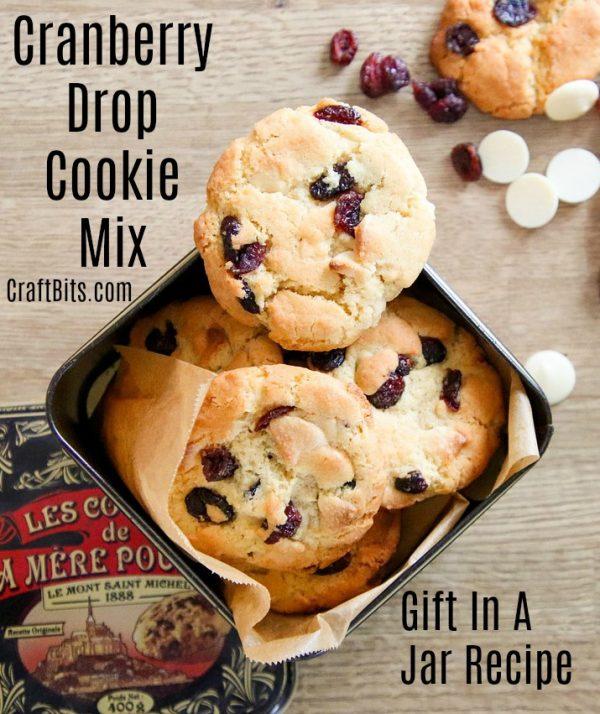 Cranberry Drop Cookie Mix
